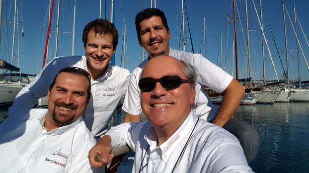 marine surveyors, yachting